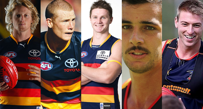Adelaide Crows important players