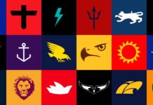 Minimalist AFL Logos