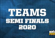afl teams semi finals 2020